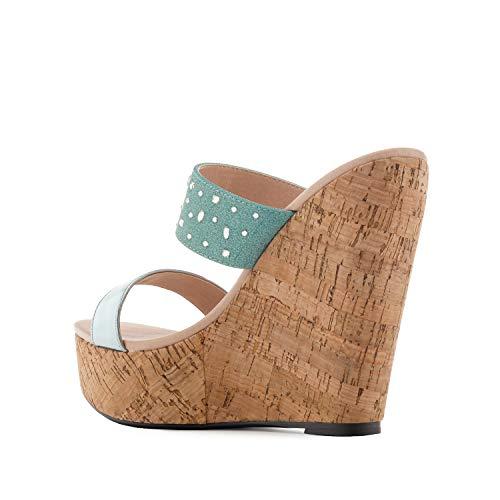 Diferentes Brillo Tallas sandalias 45 En Mujer Colores am5377 32 Pequeñas Cuñas Grandes Y Celeste Machado 35 42 para Andres HIwCvqYq
