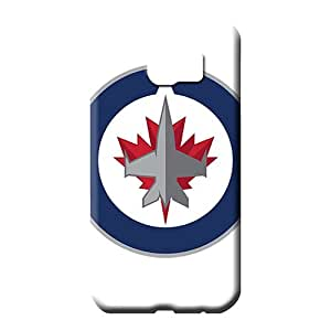 samsung galaxy s6 phone back shell Perfect Attractive style winnipeg jets