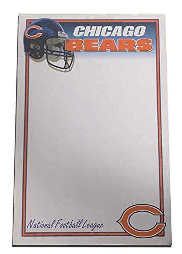 (International Design Chicago Bears 50 Sheet Note Pad)