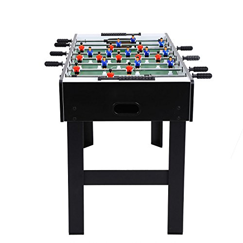 Fashine 48″ Professional Foosball Table Competition Indoor Arcade Soccer Football Game Family Party Leisure Sport, US STOCK (Black)