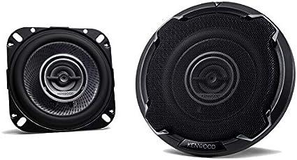 Kenwood KFC-1066S 220 Watt 4-Inch 2-Way Coaxial Flush Mount Speakers Pair