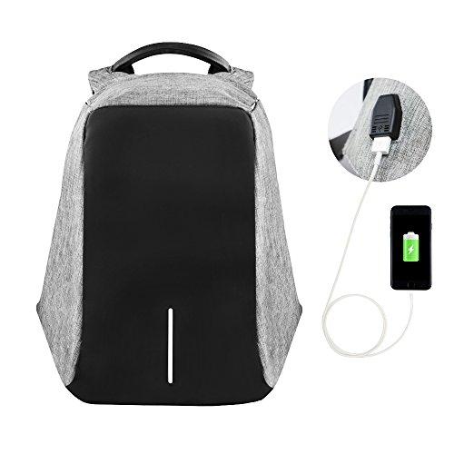 Travel Outdoor Computer Backpack Laptop bag 16''(black) - 4