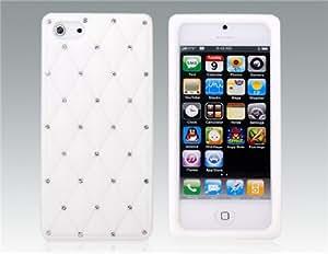 Conseguir Funda de silicona protectora para el iPhone 5 (Blanco)