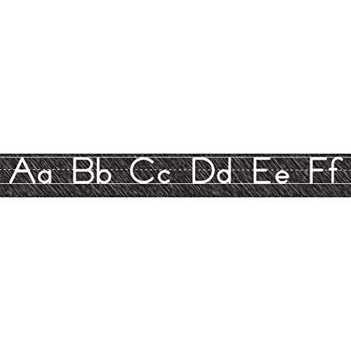 Ashley Productions Scribble Chalk Manuscript Magnetic Alphabet Line (Manuscript Border)