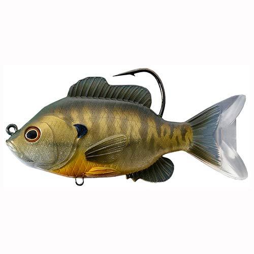 LiveTarget Sunfish Swimbait, Freshwater, 3 1/2
