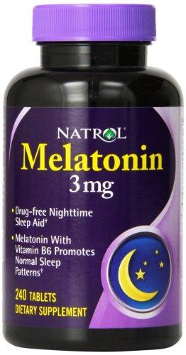 Natrol 16068 Melatonin 240 Tabs
