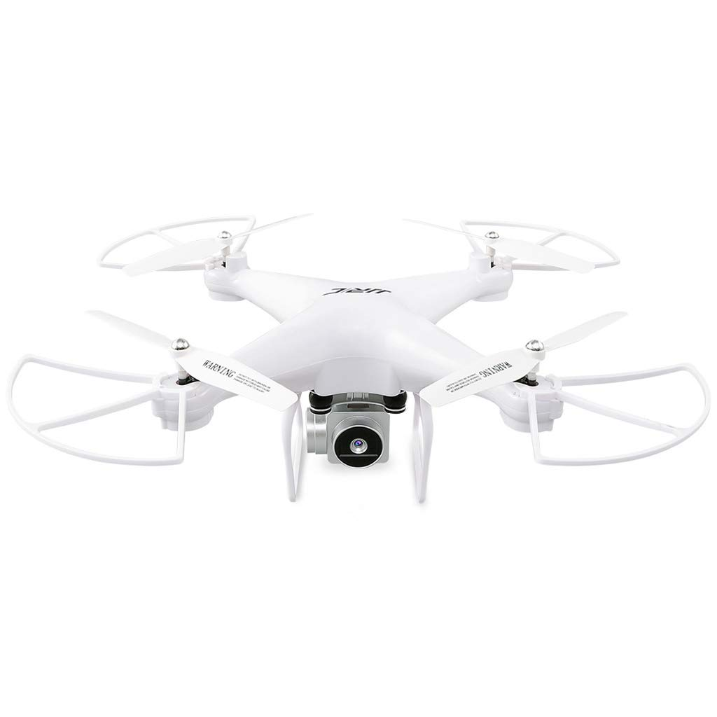 WANG XIN Remote Control Aircraft 720P WiFi Drone Long Standby Aircraft (Color : White)