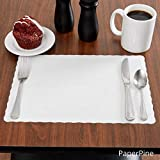 Rectangle Disposable Paper Placemat (100 Pack) - 10