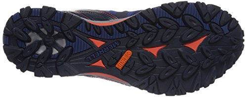 Merrell Men's Grassbow Sport Gore-Tex Low Rise Hiking Shoes Multicolour (Navy/Tahoe Blue) CnOZFs4cT