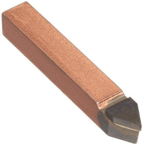 American Carbide Tool Carbide-Tipped Tool Bit for Threading, Neutral, K21 Grade, 0.375'' Square Shank, E 6 Size by American Carbide Tool