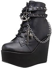Demonia Women's Poi101/Bvl Boot