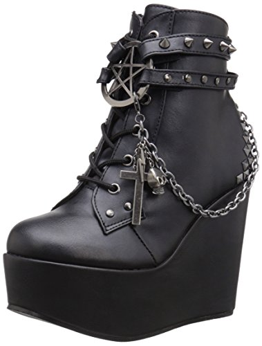 Demonia Women's POI101/BVL Boot Black Vegan Leather discount amazon manchester great sale outlet many kinds of cheap sale many kinds of Lj5QWdCWk