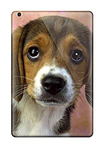 Ultra Slim Fit Hard Valerie Lyn Miller Case Cover Specially Made For Ipad Mini/mini 2- Beagle Dog