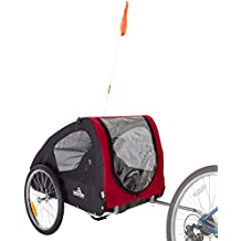 Lucky Dog Deluxe Pet Stroller - Bike Trailer Combo - 88 lb Capacity