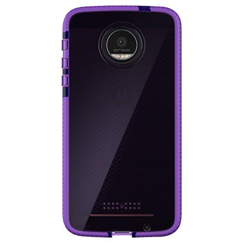 tech21 evo check moto z droid force purple ()