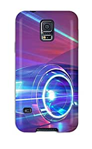 Hot Fashion YkBeAwo1989QQCTT Design Case Cover For Galaxy S5 Protective Case (very Fast Car)