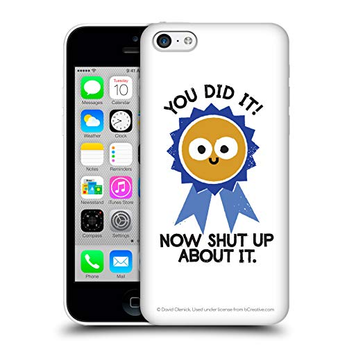 - Official David Olenick Boast Likely to Suceed Medal Objects Hard Back Case for iPhone 5c