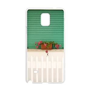 Samsung Galaxy Note 4 Case, white house Case for Samsung Galaxy Note 4 White