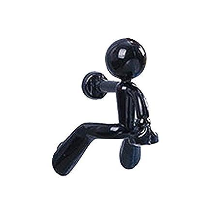 SZTARA Key Pete Magnetic Key Holder Wall Climbing Strong Keyring Hooks  Fashion Black