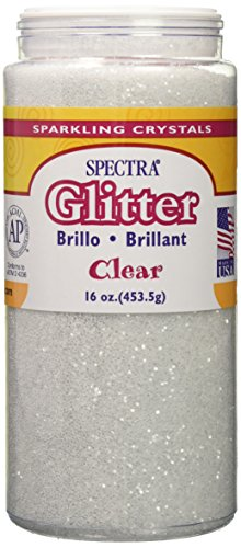Spectra Glitter, Clear, 1 Pound