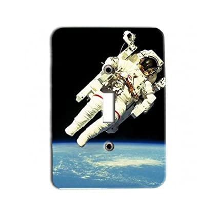 Amazon Com Nasa Astronaut In Space Metal Light Switch Plate