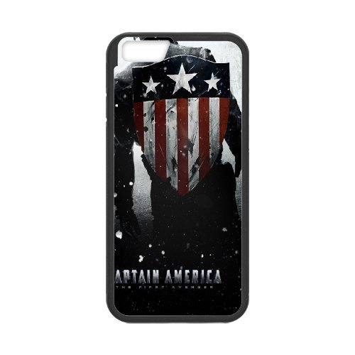 Captain America Phone Case And One Free Tempered-Glass Screen Protector For iPhone 6,6S 4.7 Inch T208209