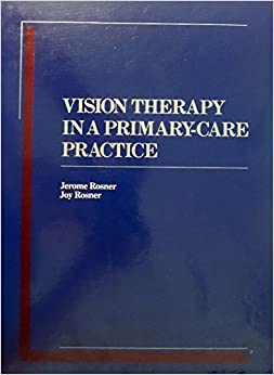 Book Vision Therapy: In A Primary-Care Practice