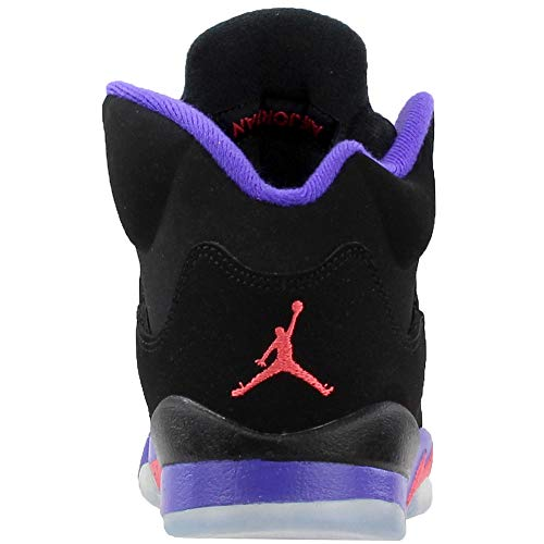 Black Viola Ember Basket Air 5 fierce Retro Nero da NIKE Donna GG Scarpe Jordan Glow vf6xA