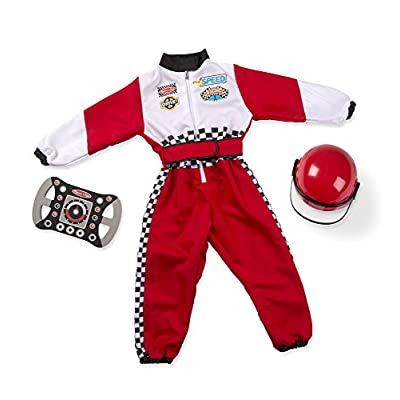 Melissa & Doug Race Car Driver Role Play Costume Set: Toy: Toys & Games