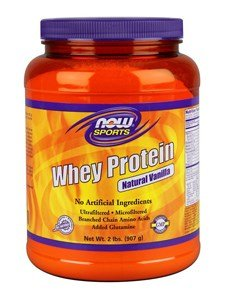 - NOW Foods Sports Whey Protein Natural Vanilla - 2 lbs