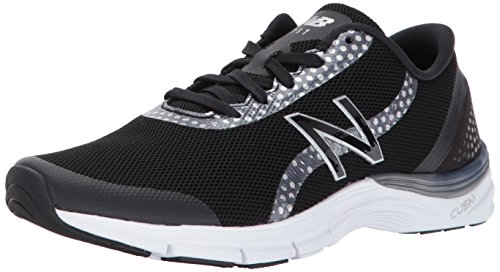 Balance Womens CUSH Training Shoes New WX711V3 Silver Black 7dw5dR