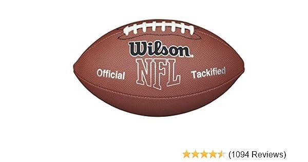 amazon com wilson nfl mvp football sports outdoors