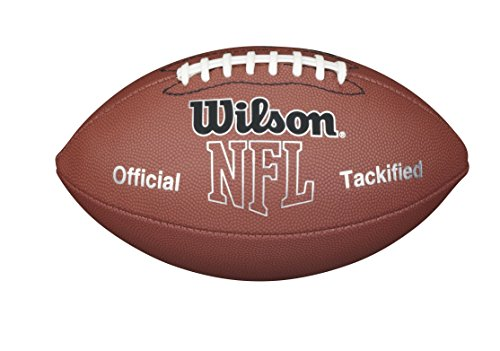 Wilson NFL MVP Pee Wee Football, - Wee Football Composite Leather Pee