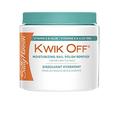 (Sally Hansen Kwik Off Nail Color Remover with Vitamin E and Aloe, 5.1 Fluid)