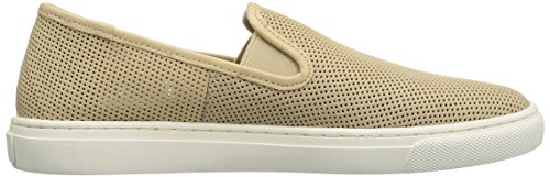 206 Collective Women's Cooper Perforated Slip-on Fashion Sneaker Buff Perforated Leather