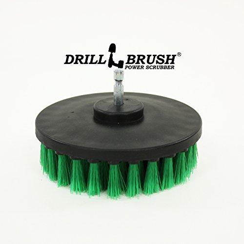Carpet Brush Drill Attachment Medium Duty Scrubbing Drill
