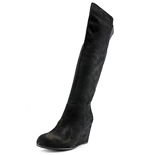 Chinese Laundry Womens Unbelievable Almond Toe Over Knee, Black, Size 5.0