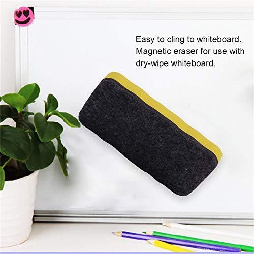 1 PZ Nuovo arrivo Lavagna bianca Gomma cancellabile Marker Cleaner Forniture per ufficio magnetico per la scuola Durevole alla moda Consegna a caso