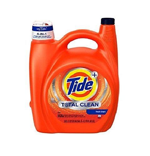 Tide Total Care - Tide Liquid He Total Clean (88 Loads, 170 Oz.)