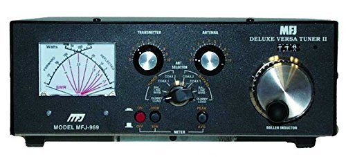 MFJ Enterprises Original MFJ-969 HF/50 MHz Antenna Tuners AirCore Roller Inductor 300 Watts by MFJ