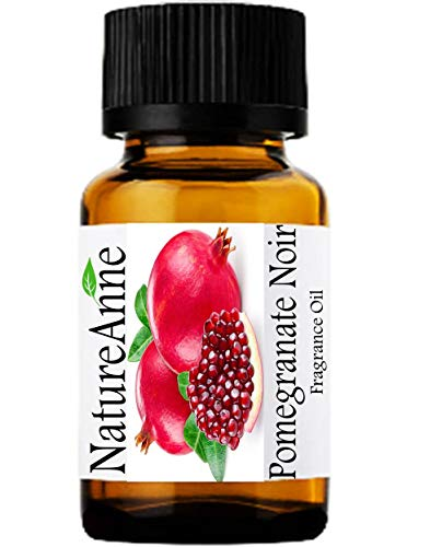 Pomegranate Noir Premium Grade Fragrance Oil - 10ml - Scented Oil - for Diffuser Oils, Making Soap, Candles, Lotion, Home Scents, Linen Spray, Lotion, Perfume, Beard Oil, ()