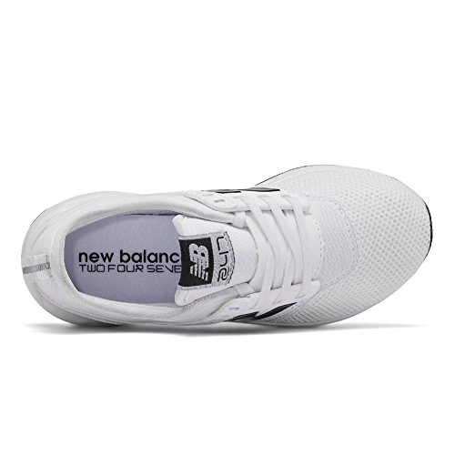 1 Kid's Classic 247 White Black New Shoe Casual 5 Balance q1nYx6xf
