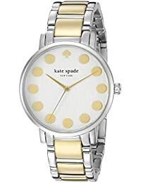 Kate Spade New York Women's 1YRU0738 Gramercy Dot Two-Tone Stainless Steel Watch