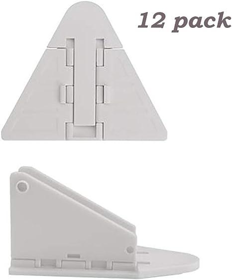 Cerradura para puerta corredera de armario de 12 paquetes – seguro ...