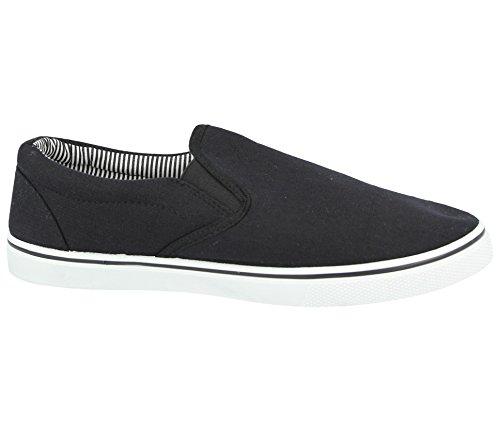 espadrillas al 5 antiscivolo da Black 47 a Scarpe uomo nei ideali disponibili ideali abbinare mocassino modello da ginnastica casual 40 all'abbigliamento dal scarpe numeri da Bvpw1qt