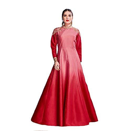 Vestido Fiesta ETHNIC Noche Dresses Largo la de colección 719 de Bollywood de Musulmana EMPORIUM Party Vestido Vestido q1R1Ot