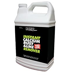 Flitz CR 01610 Instant Calcium, Rust and Lime Remover, 1-Gallon, Small