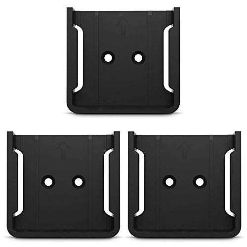 HOLACA Quick Wall Mount Bracket for Wyze Cam 1080p HD Camera and iSmart Alarm Spot Camera(3 PACK, Black)