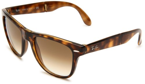 Ray-Ban RB4105 - 710/51 Folding Wayfarer Sunglasses, - Ray On Deal Best Bans
