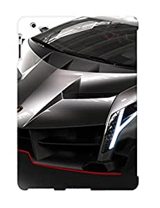 Durable Defender Case For Ipad 2/3/4 Tpu Cover(lamborghini Veneno )